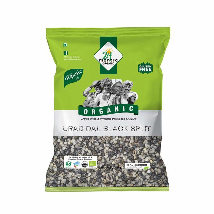 24 Organic Urad dal (Black split) 1kg
