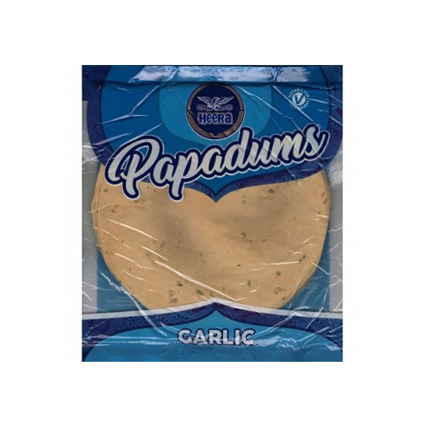 Heera Garlic Papad 200gms