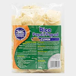 Heera Cumin/Jeera Rice Crackers 200gms