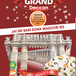 Grand Deccan Sona Masoori Rice 5kg