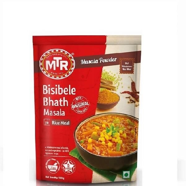 MTR Bisibele Bhath Powder 100gms