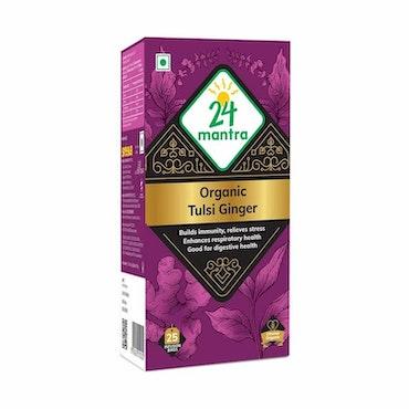 24 Organic Tulsi Ginger Tea - 25 Bags