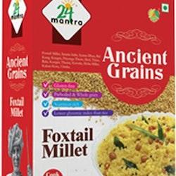 24 organic Ancient Grains Foxtail Millet 500gms