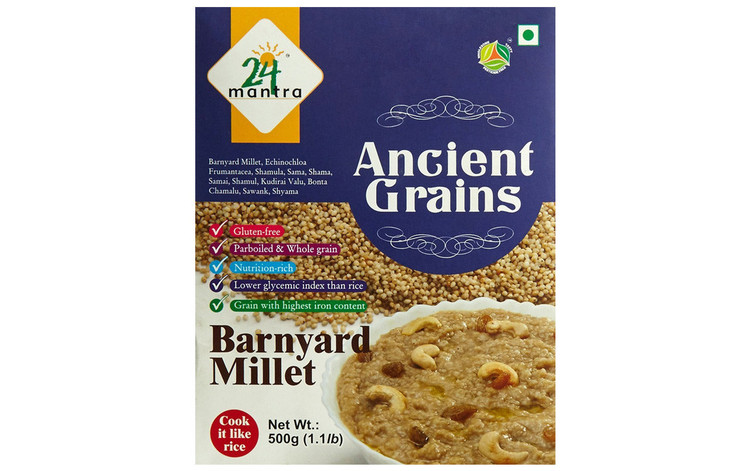 24 organic Ancient Grains Barnyard Millet 500gms