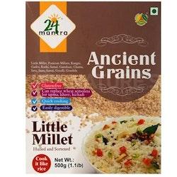 24 organic Ancient Grains Little Millet 500 gms