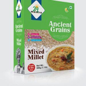 24 organic Ancient Grains Mixed Millet 500 gms