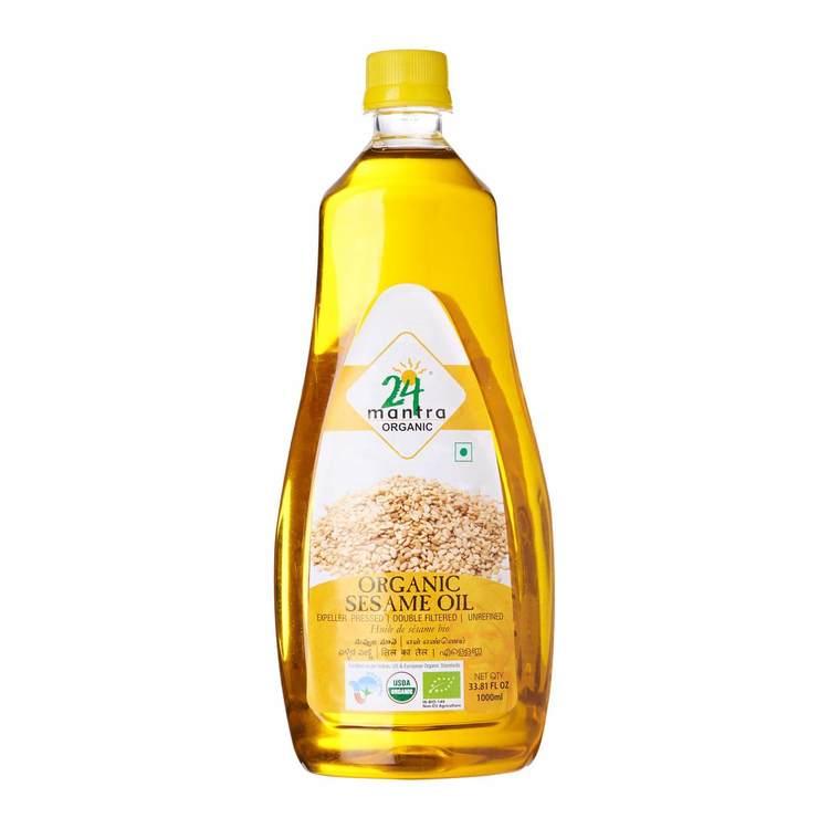 24 Organic Sesame Oil 1lt