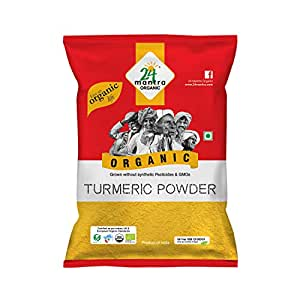 24 Organic Turmeric powder 100gms