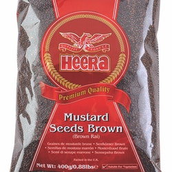 Heera Brown Mustard Seeds  400gms