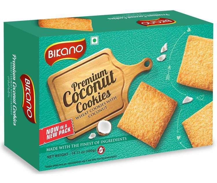 Bikano Coconut Biscuts 400gms