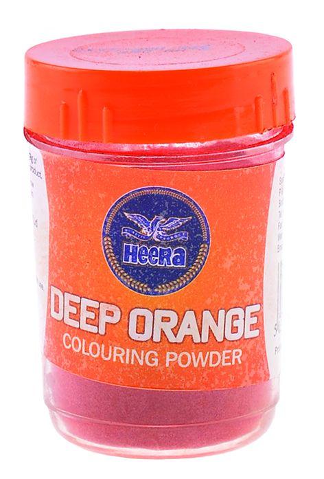 Heera Deep Orange Food Color 25gms