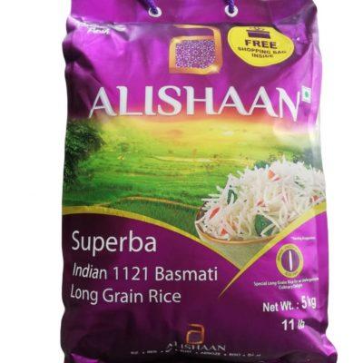 Alishan Superba Basmati Rice 5kg