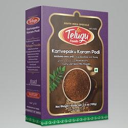 Telugu Foods Karivepaku/Curry Leaves Podi 100gms