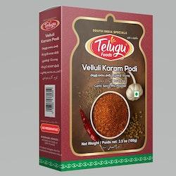 Telugu Foods Velluli Karam 100gms