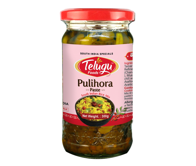 Telugu Foods Pulihora Paste 300gms