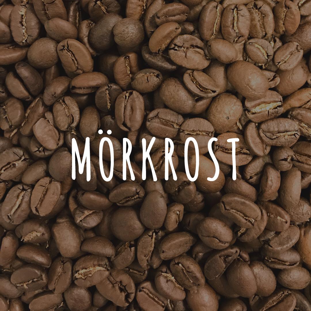 Mörkrostat Kaffe - Hälla Kafferosteri