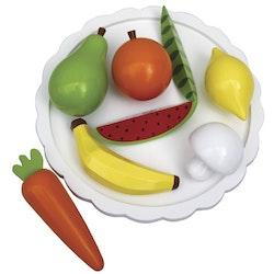 Fat med frukter och grönsaker