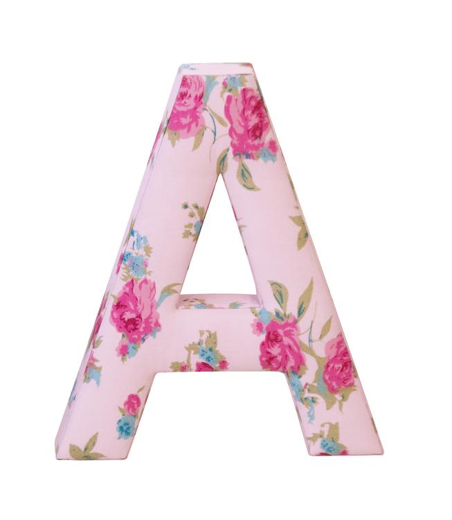 ABC Bokstäver rosa 3-pack