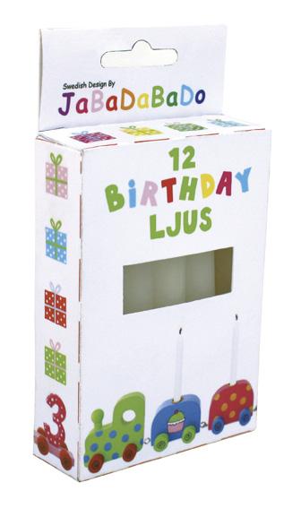 Ljus till födelsedagståget