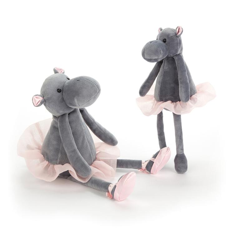 Dancing Darcey Hippo (liten)