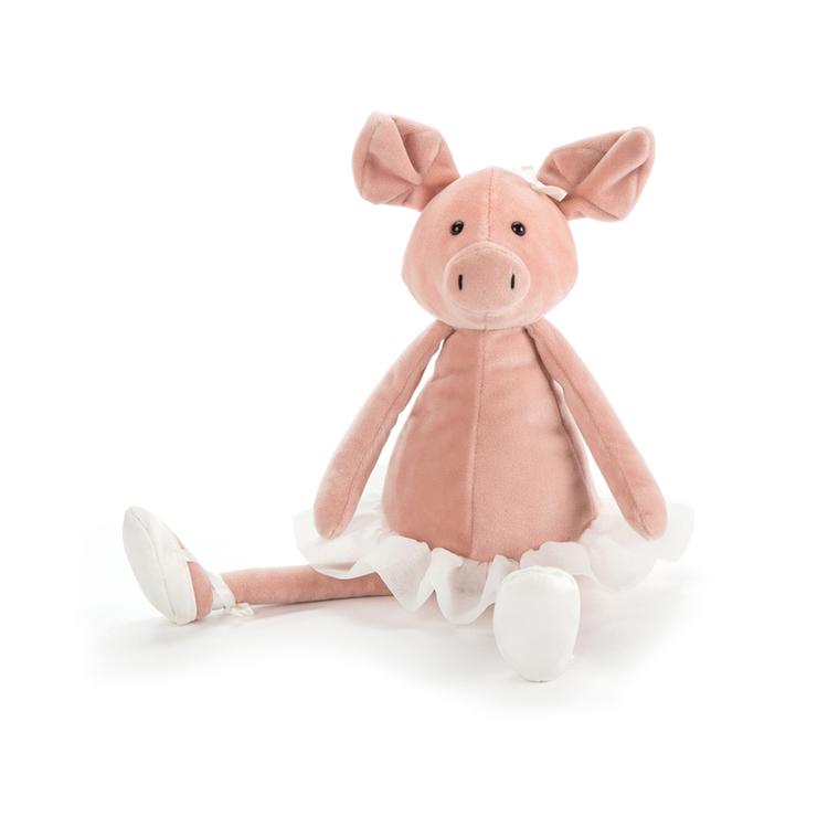 Dancing Darcey Piglet (gris)