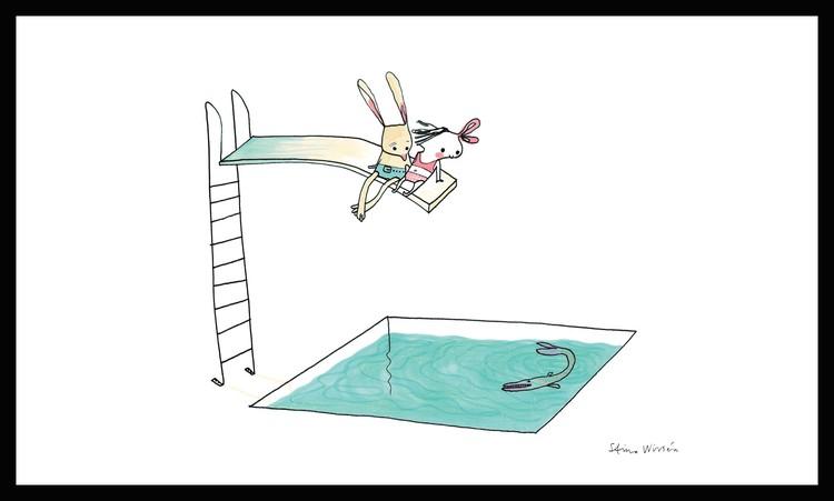 På trampolinen