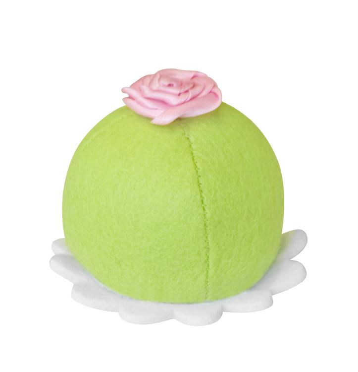 Prinsessbakelse. grön. i filt