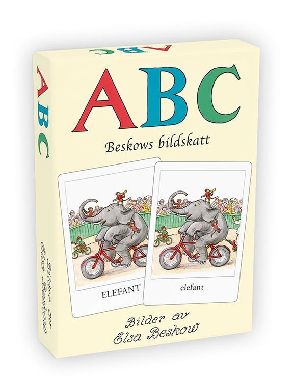 Beskows Bildskatt ABC © Elsa Beskow