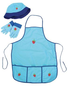 Trädgårdsmästare blå