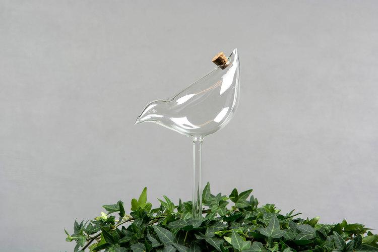 Bevattningsglas Fågel 10x25cm