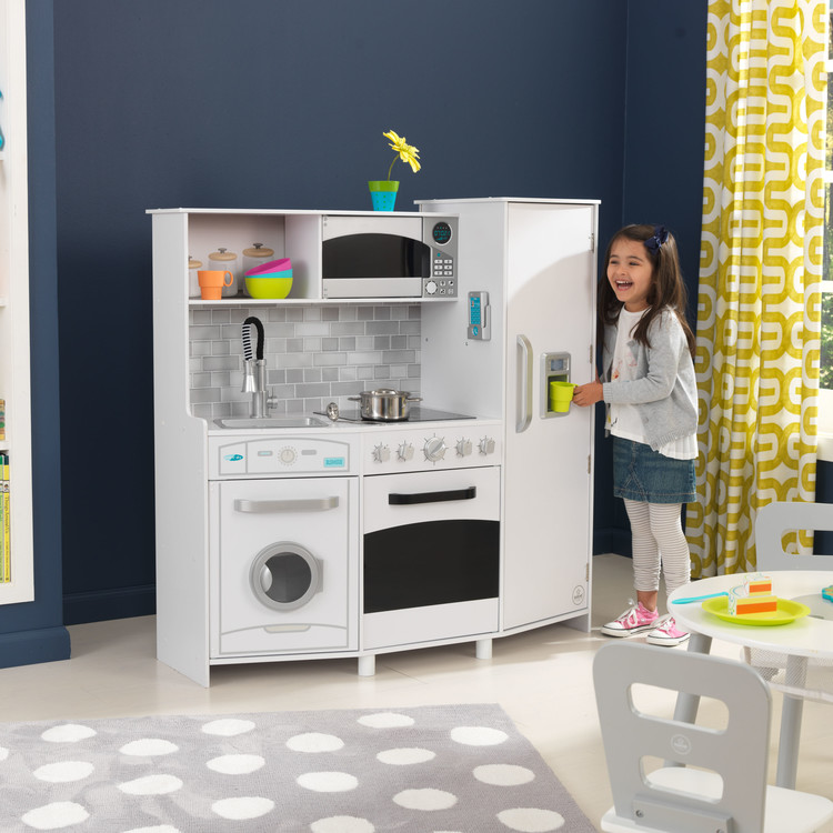 Large Play Kitchen with lights and sounds