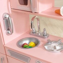 Pink Vintage Kitchen