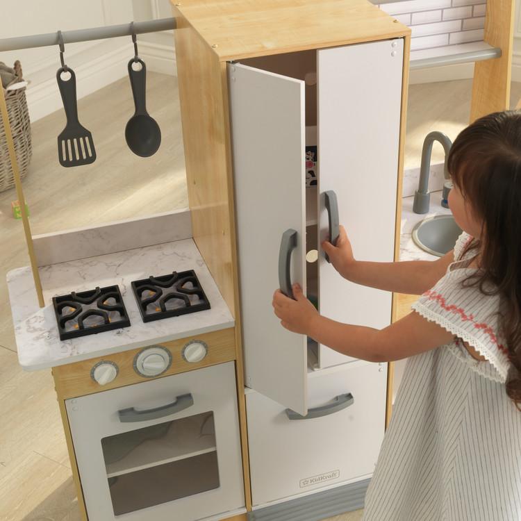 Modern-Day Play Kitchen
