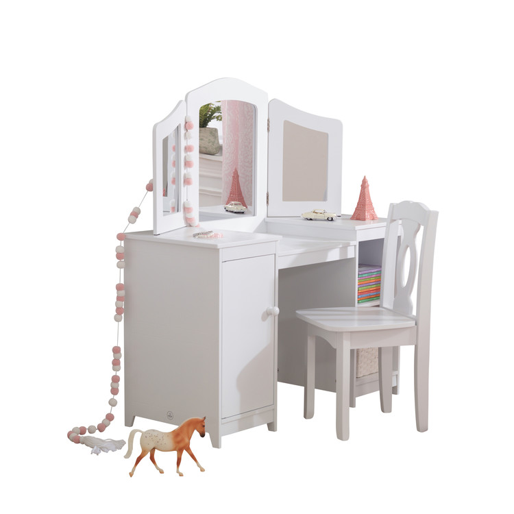 Deluxe Vanity & Chair