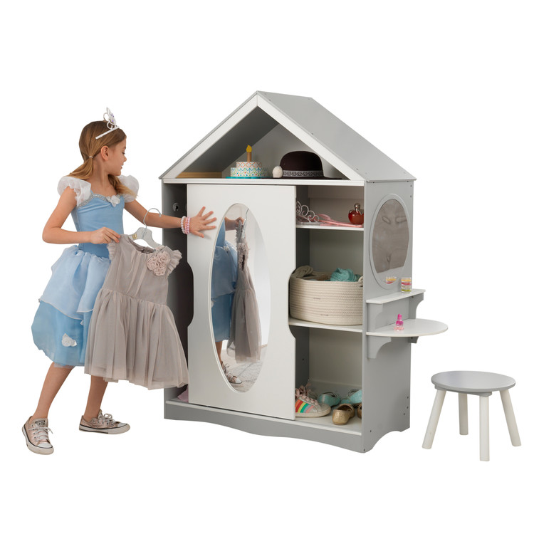 Dress Up Armoire and Vanity