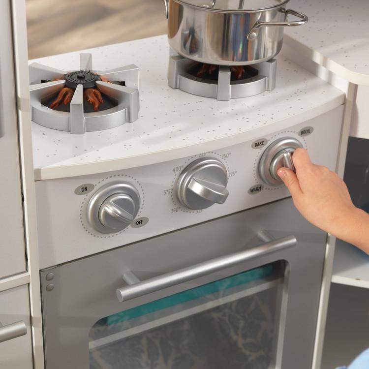 Ultimate Corner Play Kitchen - White