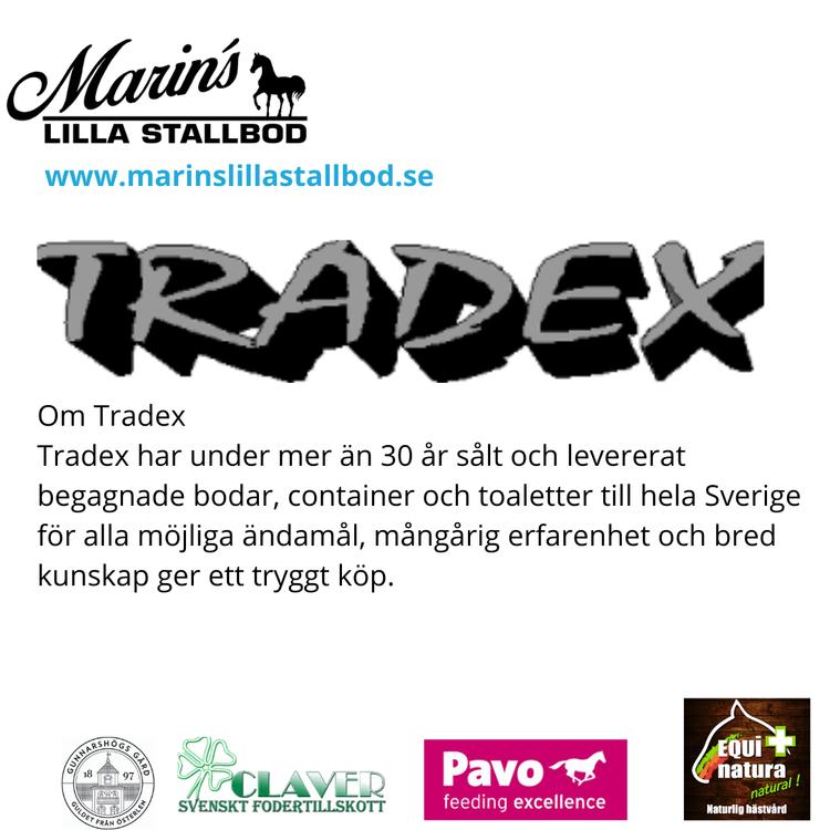 Butikslokalen är köpt hos Tradex