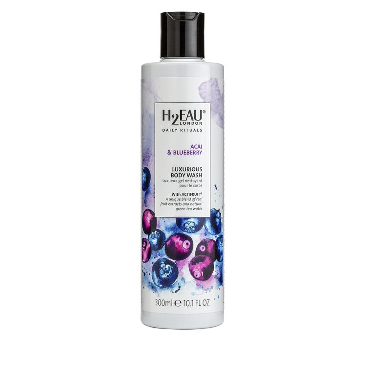 H2EAU LONDON - Acai & Blueberry Luxurious Body Wash 300 ml