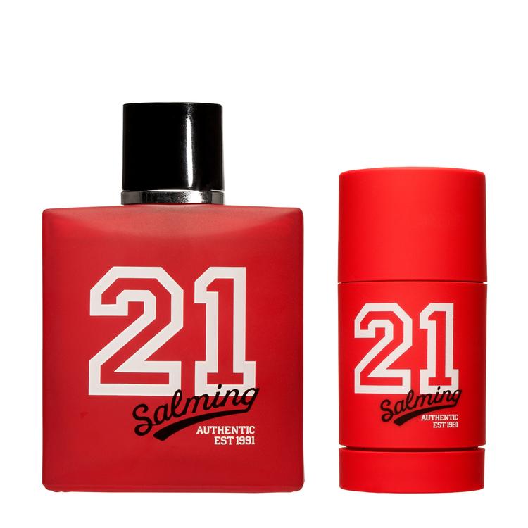 SALMING 21 RED Presentförpackning