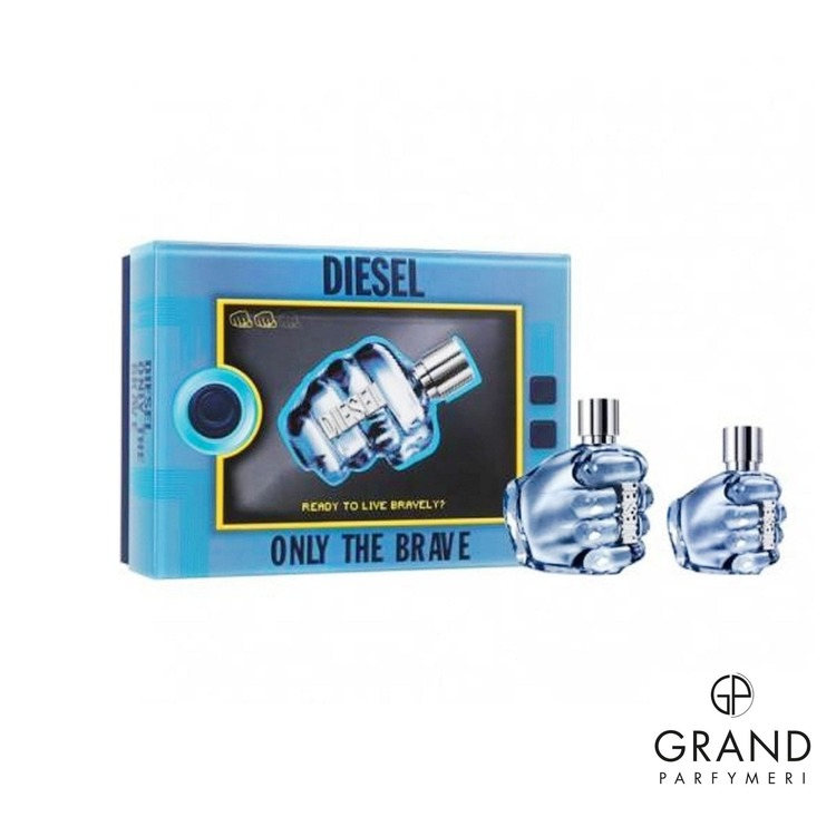 Presentpaket Diesel Only The Brave EDT 75ML + EDT 35ML