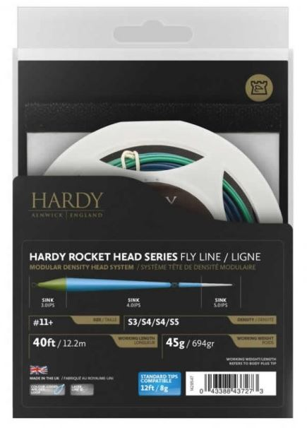 Hardy Rocket Series Shooting Head F F F H