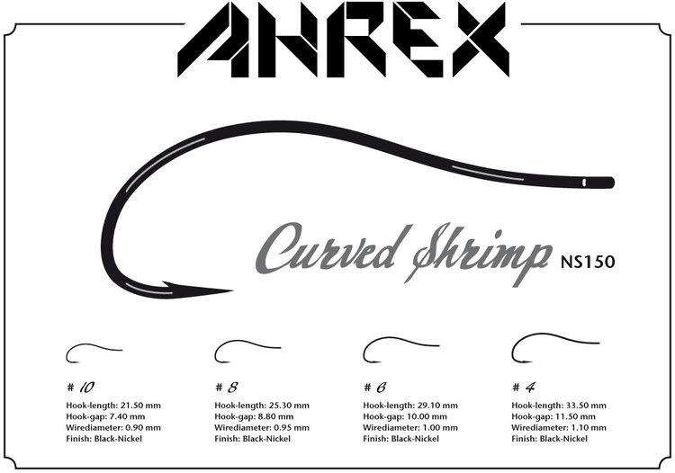 Ahrex NS150 - Curved Shrimp