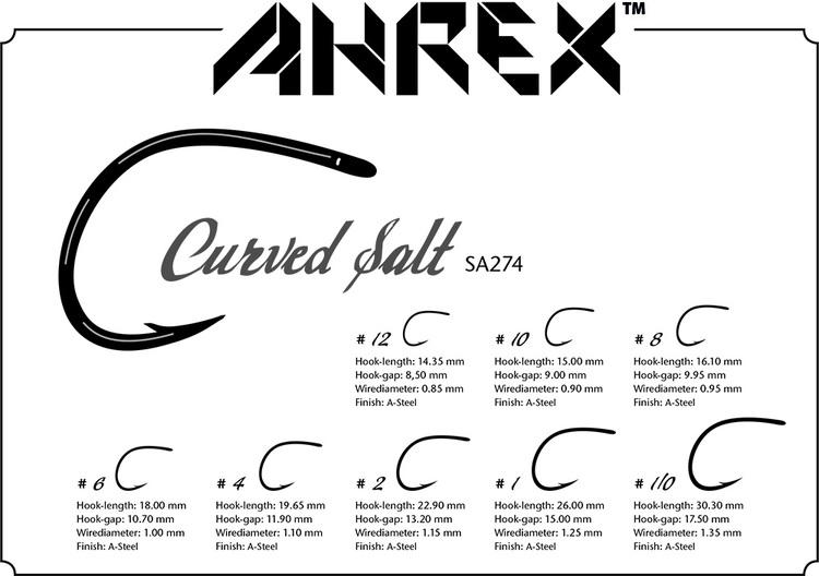 Ahrex SA274 - Curved Salt