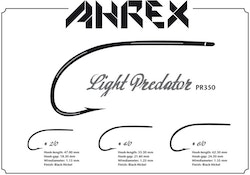Ahrex PR350 - Light Predator Barbed