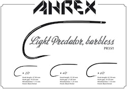 Ahrex PR351 - Light Predator Barbless