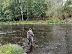 En fiskedag med oss