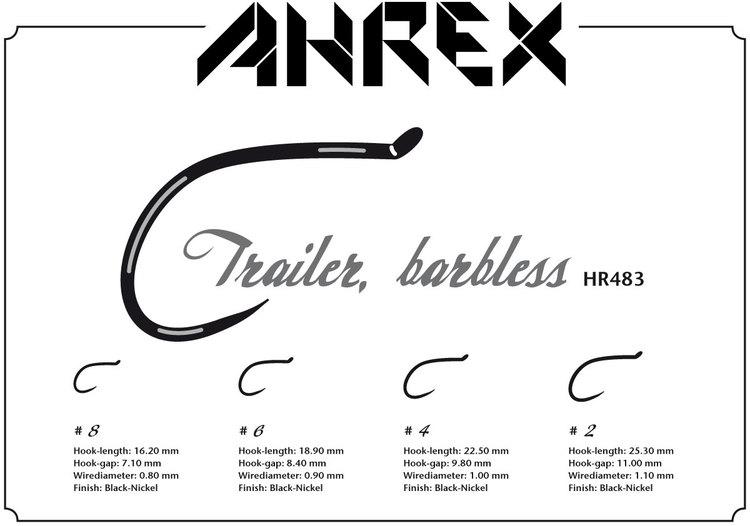 Ahrex HR483-Trailer hook barbless