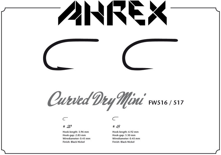 Ahrex FW516 -Curved Dry Mini