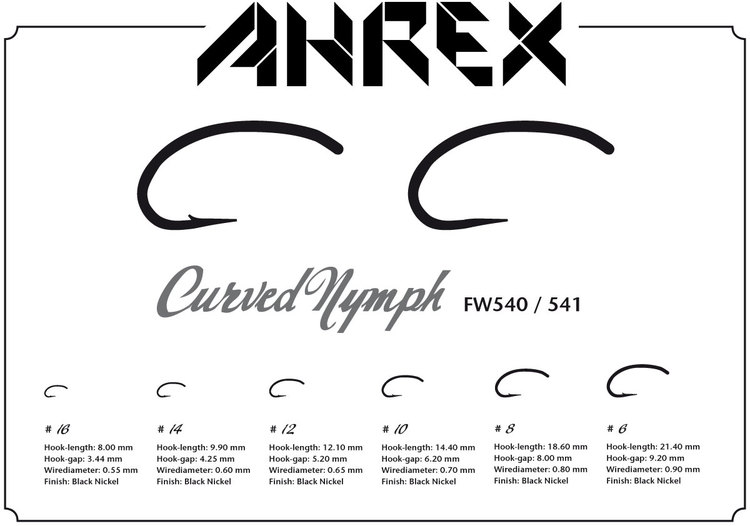 Ahrex FW540-Curved Nymph