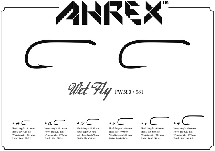 Ahrex FW580-Wet Fly